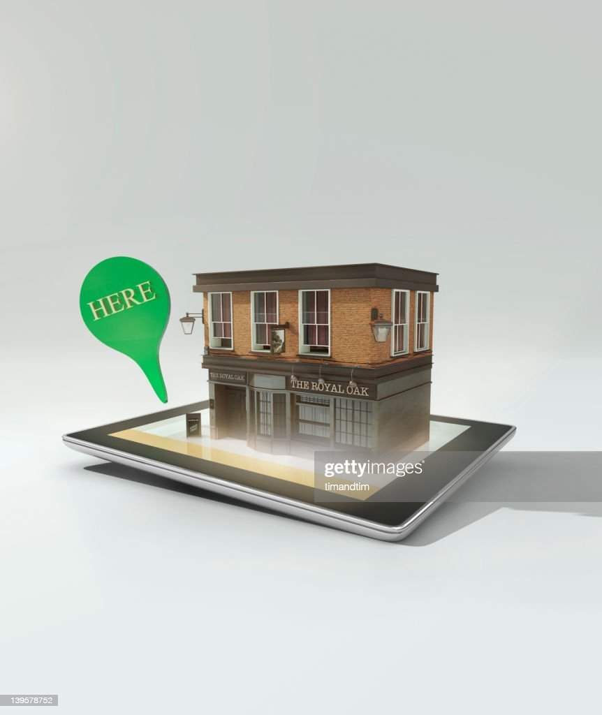 Augmented reality on a tablet computer