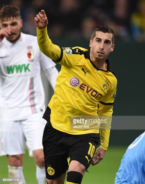FUSSBALL DFB FC Augsburg Borussia Dortmund Henrikh Mkhitaryan