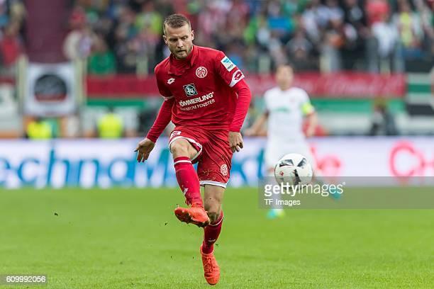 Augsburg Deutschland Bundesliga 3 Spieltag FC Augsburg 1 FSV Mainz 05 Daniel Brosinski