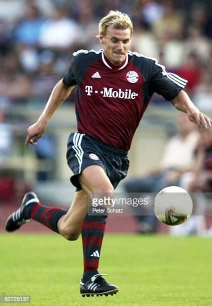 TESTSPIEL 2002 Augsburg FC AUGSBURG FC BAYERN MUENCHEN 01 Alexander ZICKLER/BAYERN