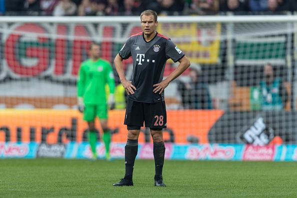 BL: FC Augsburg - FC Bayern Muenchen : News Photo