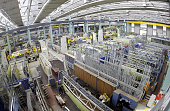 View taken 01 February 2007 of the production hall of the European aerospace giant EADS plant in Augsburg southern Germany The German ministry of...