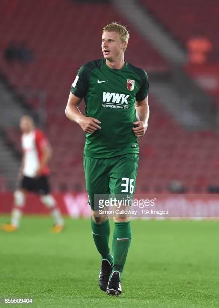FC Augsburg's Martin Hinteregger