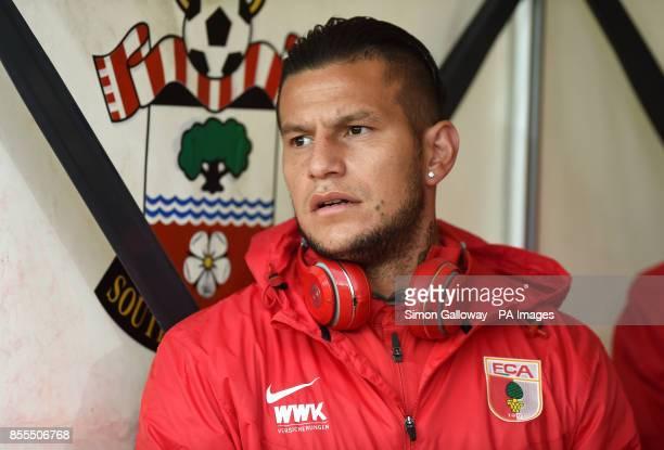 FC Augsburg's Raul Bobadilla