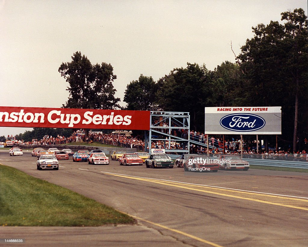 The field gets set for the start of the Budweiser at the Glen NASCAR Cup race at Watkins Glen International Tim Richmond starts from the pole with...