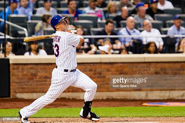 New York Mets outfielder Michael Cuddyer during a MLB game between the Colorado Rockies and the New York Mets at Citi Field in Flushing NY
