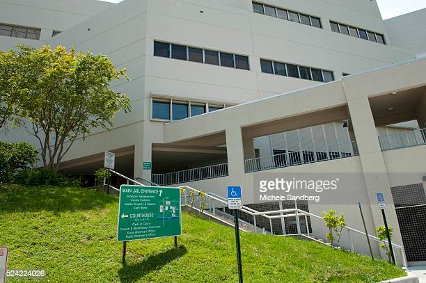 August 12 2012 Broward Country Jail where Miami Dolphins Football player Chad Johnson 'Ochocinco' was released this afternoon on $2500bond for...