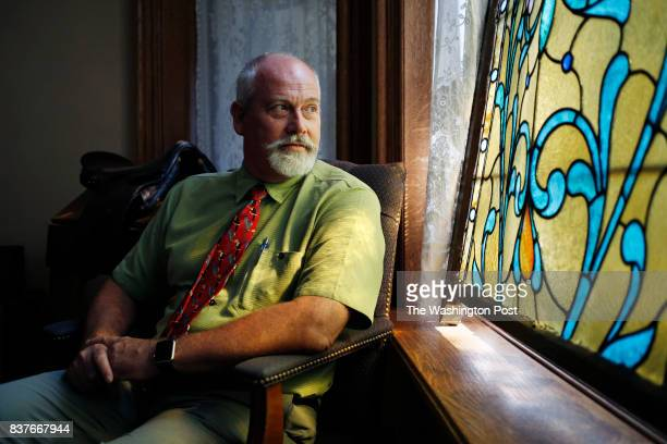 CINCINNATI OH August 16 Child psychiatrist Dr Dan Nelson sits for a portrait at the clinic where he treats addiction patients in Cincinnati Ohio on...