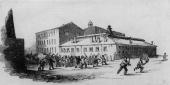 Workers rioting at Messrs Wilson's Mill at Salford Original Publication Illustrated London News Original Publication Picture Post 5228 Why Your...
