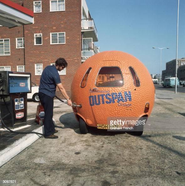 Clockwork Orange Sports Car
