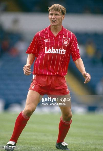 02 August 1992 Makita Football Tournament Nottingham Forest v Stuttgart Teddy Sheringham of Forest