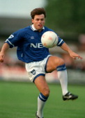 16 August 1994 PreSeason Football Friendly match Gloucester City v Everton Anders Limpar