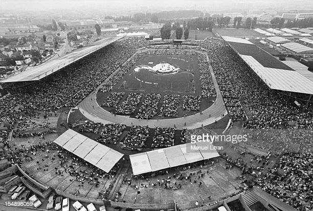 August 2 the Jehovah's Witnesses are at the Colombes stadium on the theme of 'The Divine Victory' from 1 to 5 August 1973 The gathering brings...