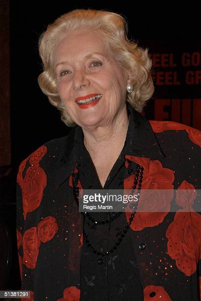 27 August 2003 VAL JELLAY at the media launch of the musical The Full Monty at the Grand Hyatt hotel in Melbourne Melbourne Victoria Australia