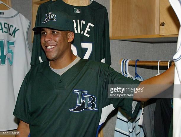 Tampa Bay Devil Rays 2007 MLB amateur draft top pick out of Vanderbilt David Price during his first official day as a Tampa Bay Devil Ray David...