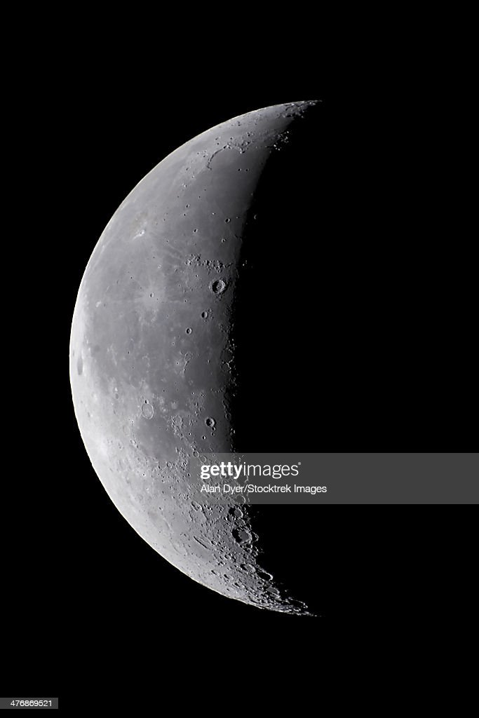 August 28, 2005 - 24 day old waning moon.