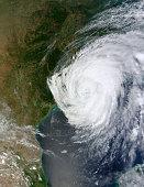 August 29, 2012 - Hurricane Isaac over Louisiana (morning overpass).