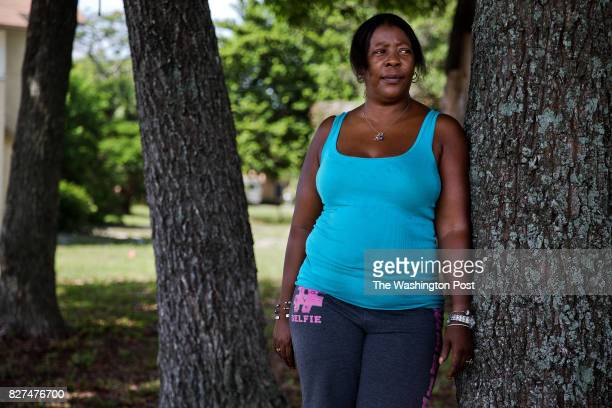 August 4 Jeanie Coleman near her home in West Palm Beach FL on Friday August 4 2017 Coleman applied for a housekeeping job during MaraLago's 'Made in...
