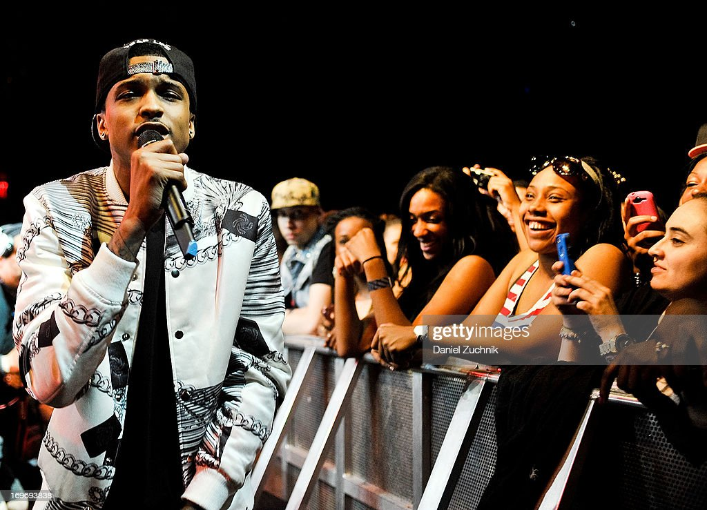 August Alsina performs...