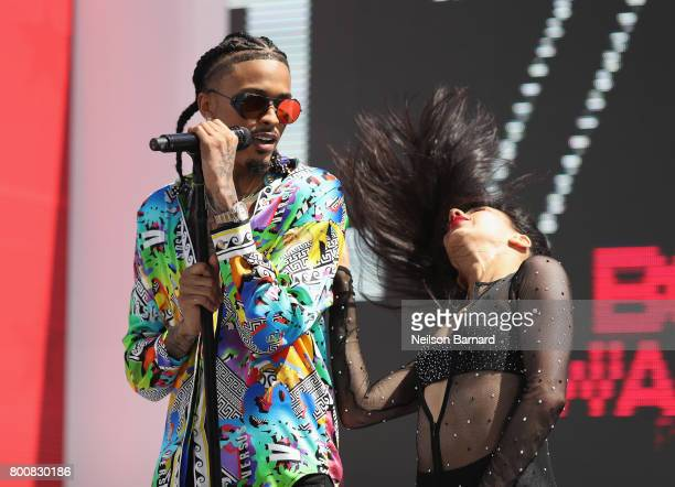 August Alsina performs onstage at Live Red Ready PreShow at the 2017 BET Awards at Microsoft Square on June 25 2017 in Los Angeles California