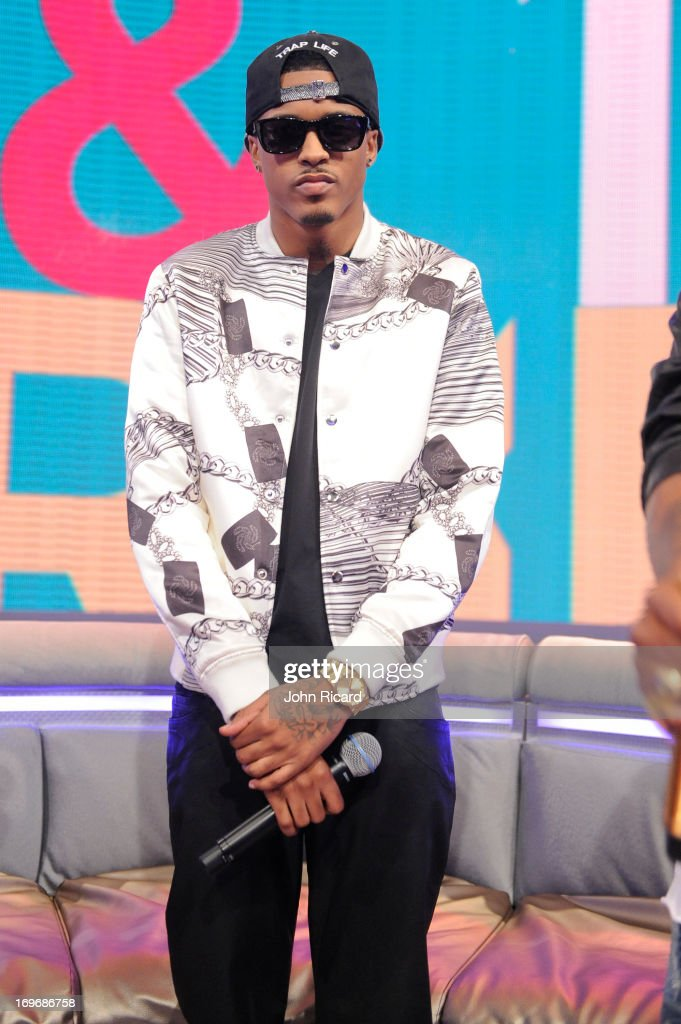 August Alsina visits BET's '106 & Park' at BET Studios on May 30, 2013 in New York City.