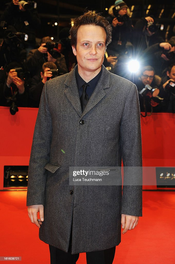 August Diehl attends the 'Night Train to Lisbon' Premiere during the 63rd Berlinale International Film Festival at the Berlinale Palast on February 13, 2013 in Berlin, Germany.