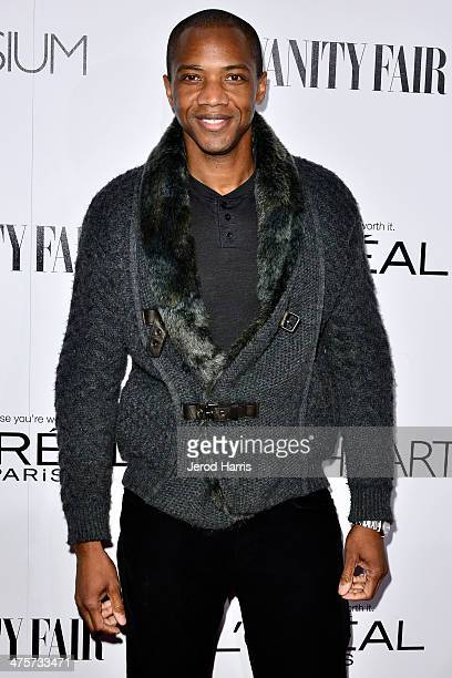 J August Richards attends the Vanity Fair Campaign Hollywood Kick Off at Sadie Kitchen and Lounge on February 28 2014 in Los Angeles California