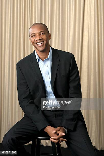 J August Richards is photographed at the Black Men in Hollywood Dinner for Essence Magazine on February 2 2006 in Hollywood California
