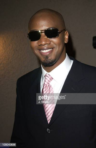J August Richards wearing Optica sunglasses during 34th NAACP Image Awards Zino Platinum Talent Lounge at Universal Amphitheatre in Universal City...