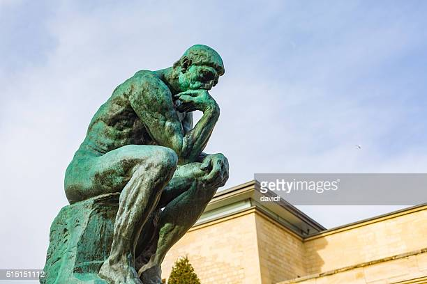 famous thinker The thinker one of auguste rodin's most famous sculptures is the thinker statue, a piece originally conceived to be part of another work the thinker was part of a commission by the museum of decorative arts in paris to sculpt a monumental door based on the divine comedy of dante.