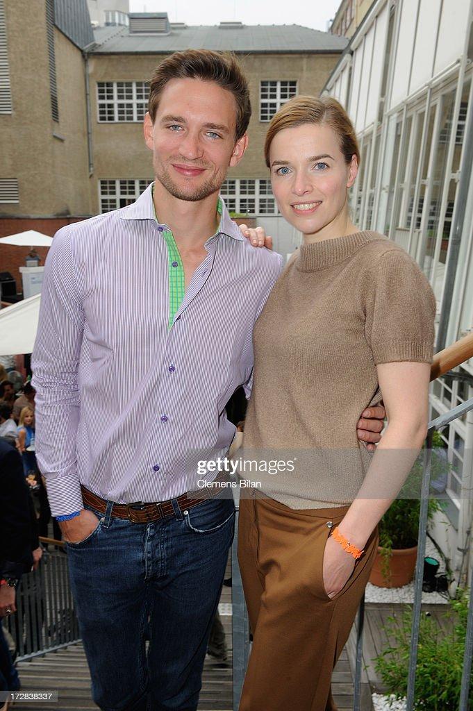 August Wittgenstein and Thekla Reuten attend the Gala Fashion Brunch at Ellington Hotel on July 5, 2013 in Berlin, Germany.