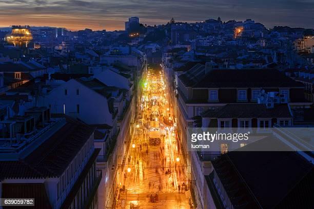 Augusta em Lisboa, Rua