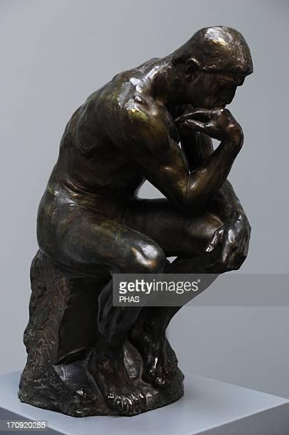 Auguste Rodin French sculptor The Thinker Bronze 190001 Ny Carlsberg Glyptotek Copenhagen Denmark