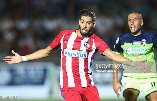 Augusto Fernandez of Atletico de Madrid during presseason friendly match between FC Crotone and Club Atletico de Madrid at Stadio Comunale Gigi...