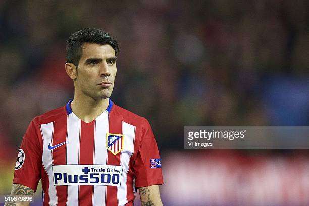 Augusto Fernandez of Club Atletico de Madrid during the UEFA Champions League Round of 16 Second leg match between Atletico madrid and PSV Eindhoven...