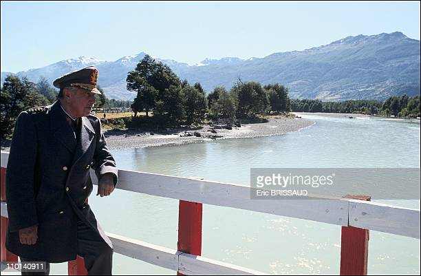 Augusto Pinochet in Chile on May 1 1987