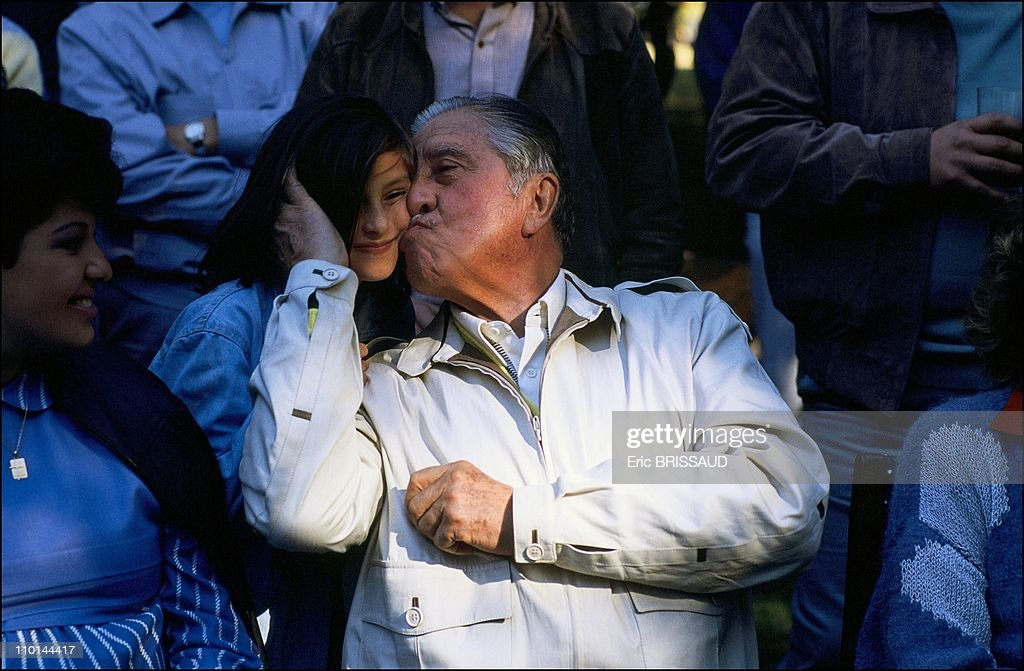 <a gi-track='captionPersonalityLinkClicked' href=/galleries/search?phrase=Augusto+Pinochet&family=editorial&specificpeople=93107 ng-click='$event.stopPropagation()'>Augusto Pinochet</a> is the Chief of the Armed Forces Chile in January, 1990.