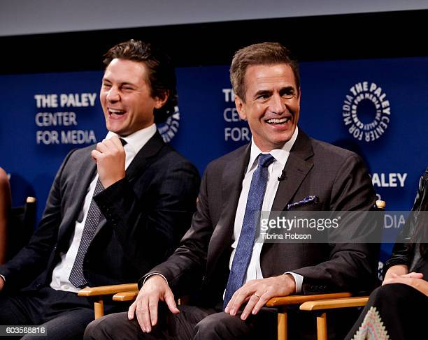 Augustus Prew and Dermot Mulroney attend The Paley Center for Media's PaleyFest 2016 fall TV preview for CBS at The Paley Center for Media on...