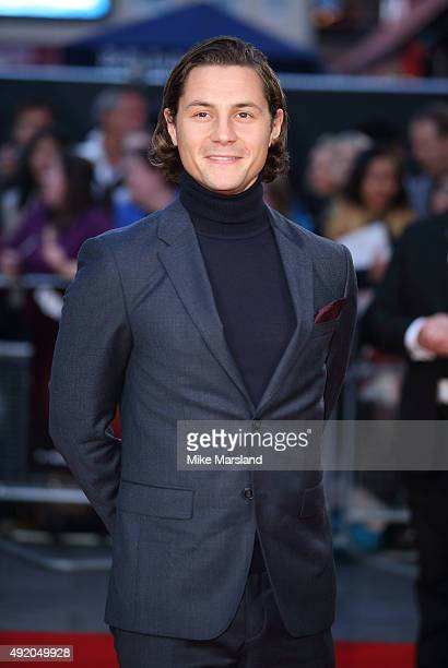 Augustus Prew attends a screening of 'High Rise' during the BFI London Film Festival at Odeon Leicester Square on October 9 2015 in London England