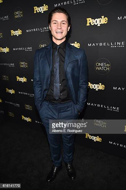 Augustus Prew attends People's 'Ones to Watch' event presented by Maybelline New York at EP LP on October 13 2016 in Hollywood California
