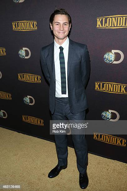 Augustus Prew attends the 'Klondike' series premiere at Best Buy Theater on January 16 2014 in New York City