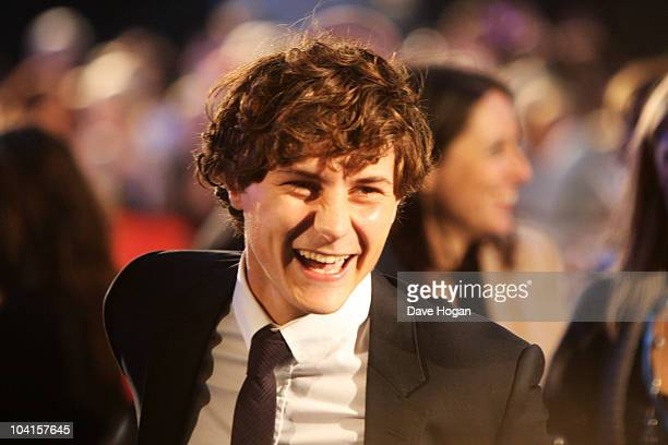 Augustus Prew attends the UK premiere of The The Death And Life Of Charlie St Cloud held at The Empire Leicester Square on September 16 2010 in...