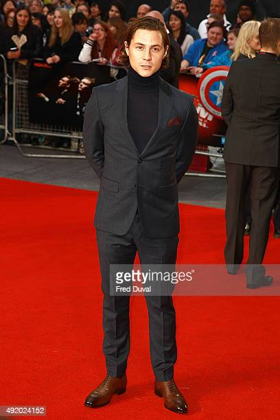 Augustus Prew attends the UK Premiere or 'HighRise' at Odeon Leicester Square on October 9 2015 in London England