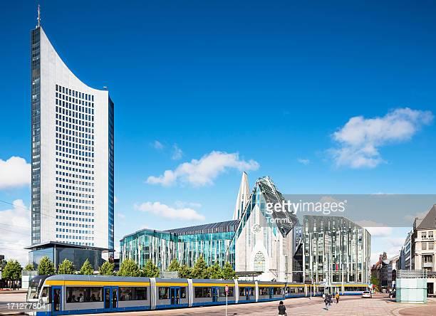 Augustusplatz in Leipzig, Germany