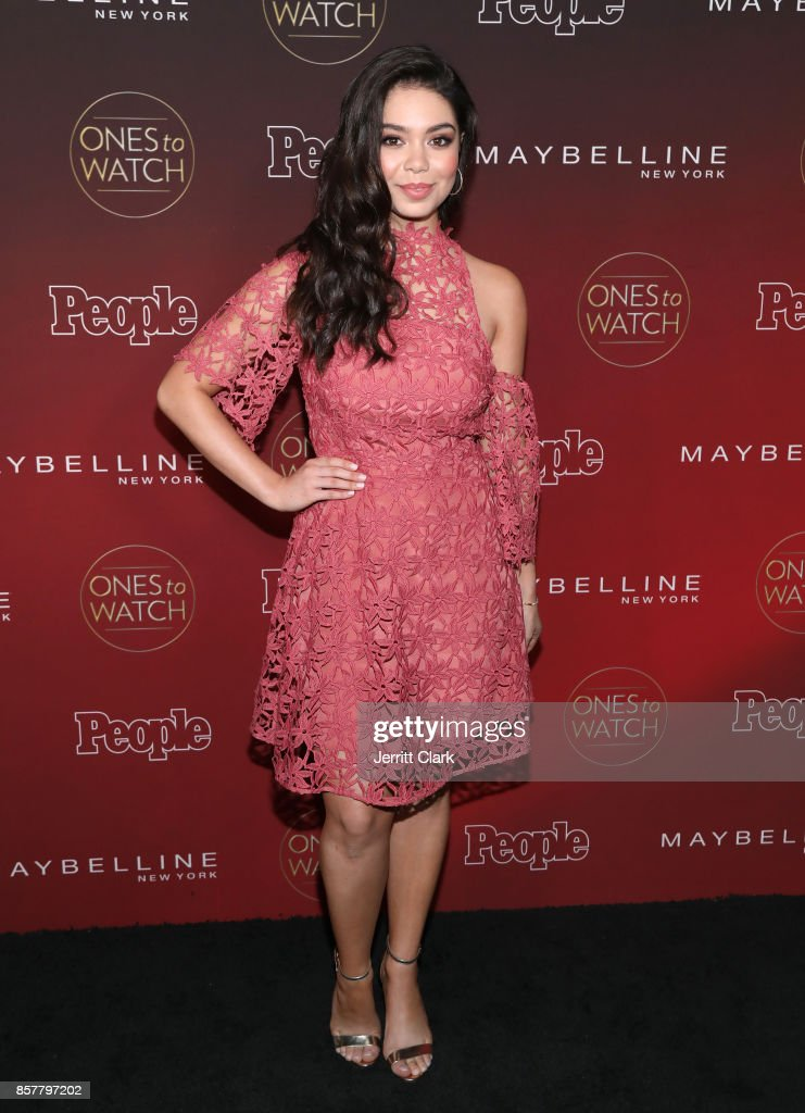 Auli'i Cravalho attends People's 'Ones To Watch' at NeueHouse Hollywood on October 4, 2017 in Los Angeles, California.