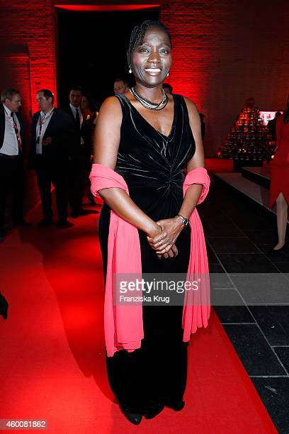 Auma Obama attends the Ein Herz Fuer Kinder Gala 2014 Party on December 6 2014 in Berlin Germany
