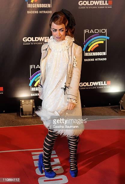 Aura Dione attends the Radio Regenbogen Award 2011 on March 25 2011 in Karlsruhe Germany