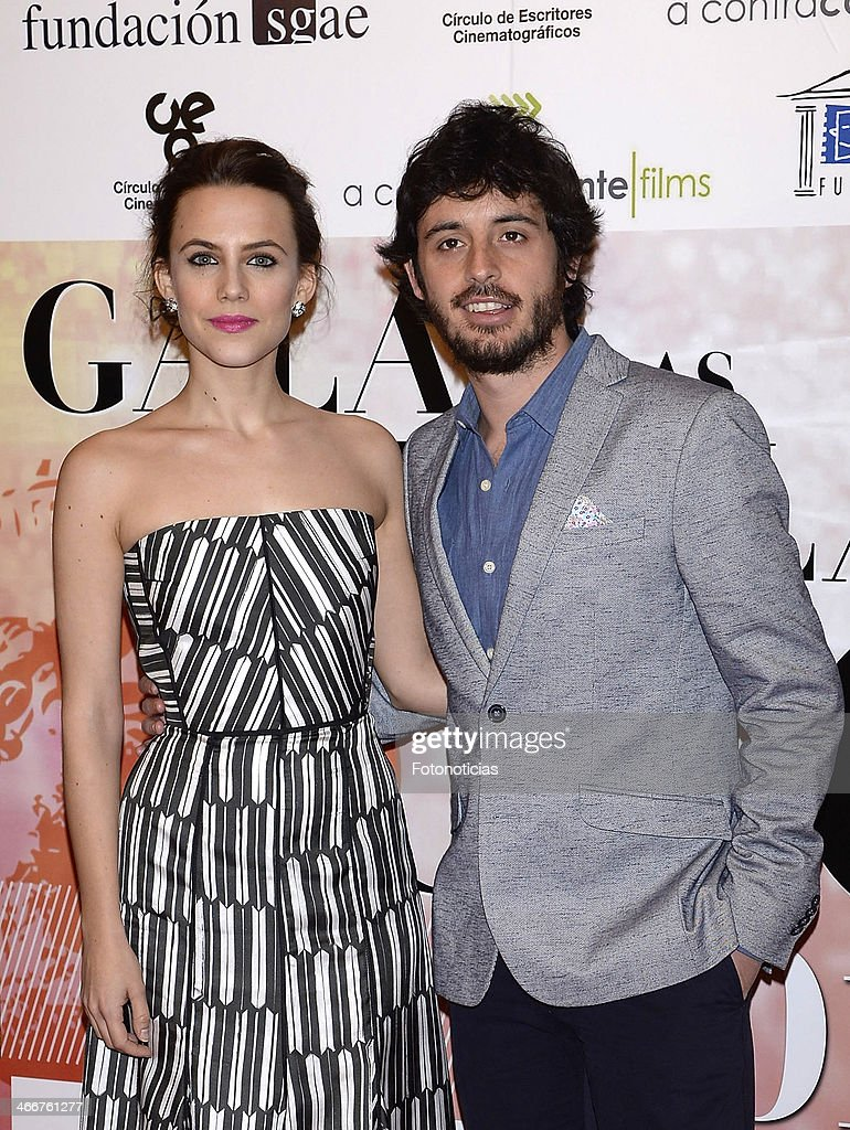 Aura Garrido and Javier Pereira attend the 'CEC' medals 2014 ceremony at the Palafox cinema on February 3, 2014 in Madrid, Spain.