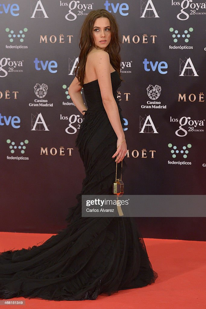 Aura Garrido attends Goya Cinema Awards 2014 at Centro de Congresos Principe Felipe on February 9, 2014 in Madrid, Spain.