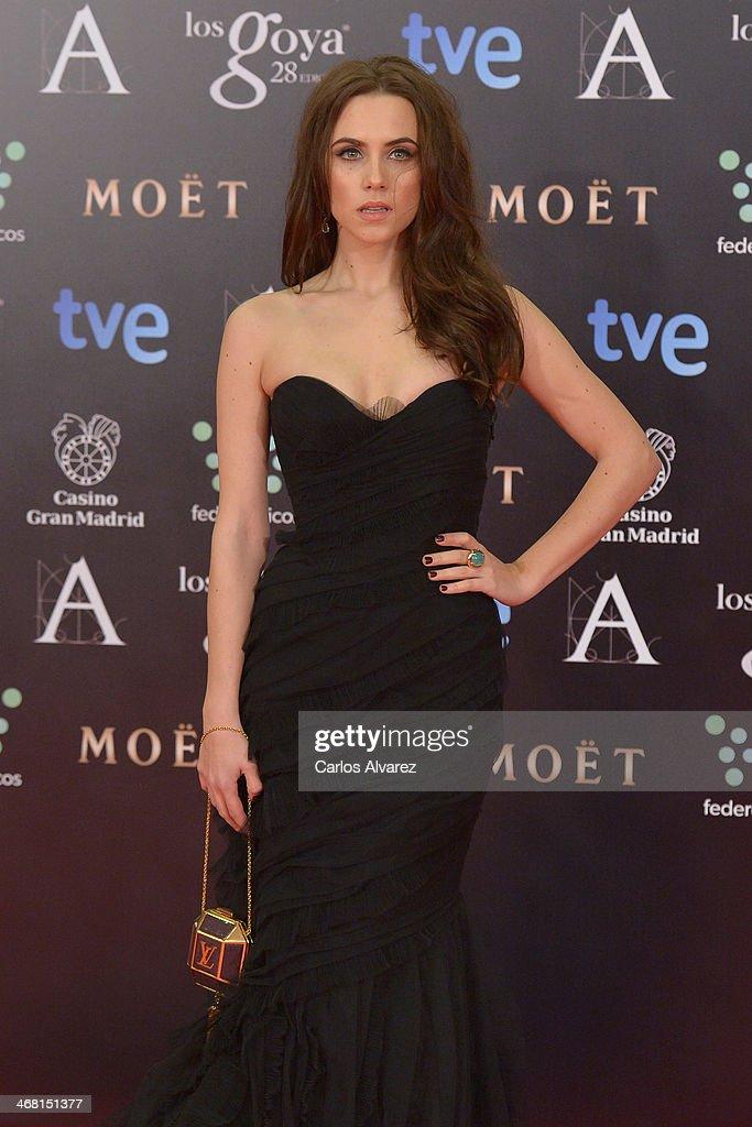 Aura Garrido attends Goya Cinema Awards 2014 at Centro de Congresos Principe Felipe on February 9, 2014 in Madrid, Spain.